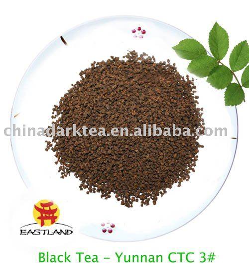 Yunnan   CTC  3 #  Chinese Black tea Black tea powder
