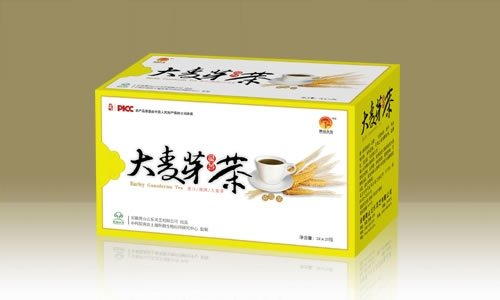 Malt and Ganoderma Lucidum tea