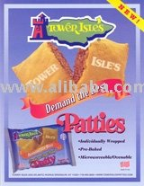 Jamaican   Meat Patties-Individually Packaged For Vending