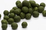 Green seaweed coated peanut