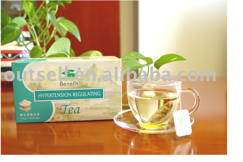 Benefit Hypertension Regulating Tea