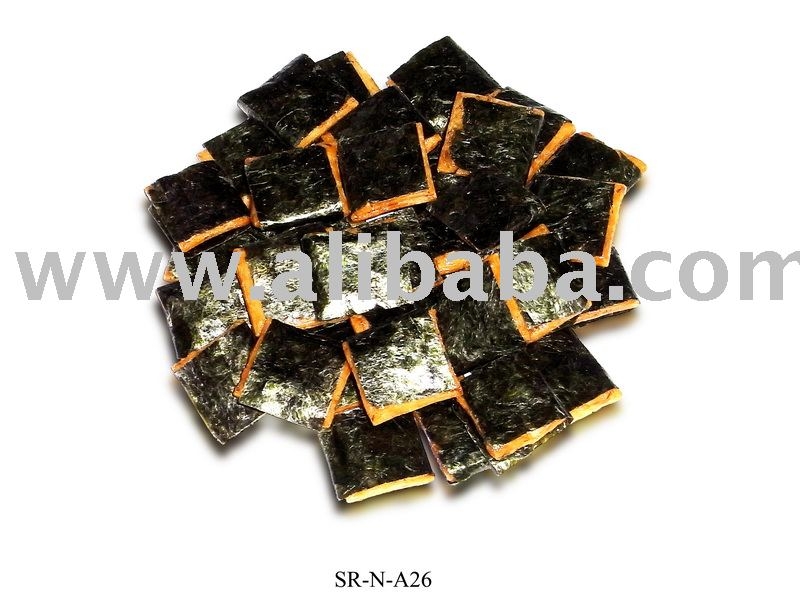 Rice Crackers (Seaweed Square)