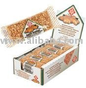 peanut   snack   bar  of 40 gram per piece