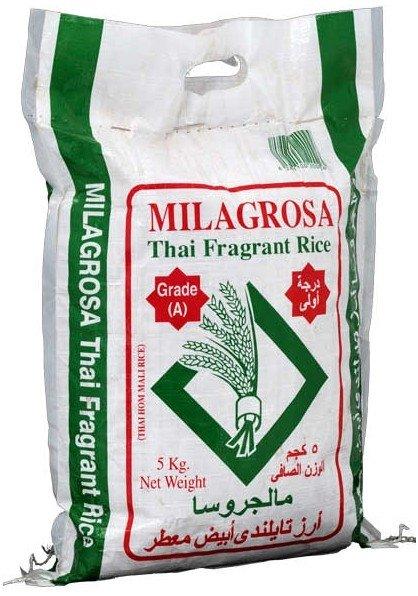 rice 5kg milagrosa brand basmati baldo orign place turkish