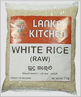 White Raw Rice