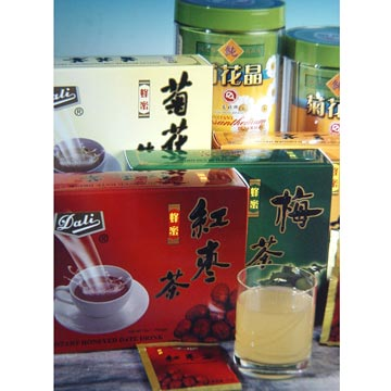 Instant Honeyed Chrysanthemum Drinks