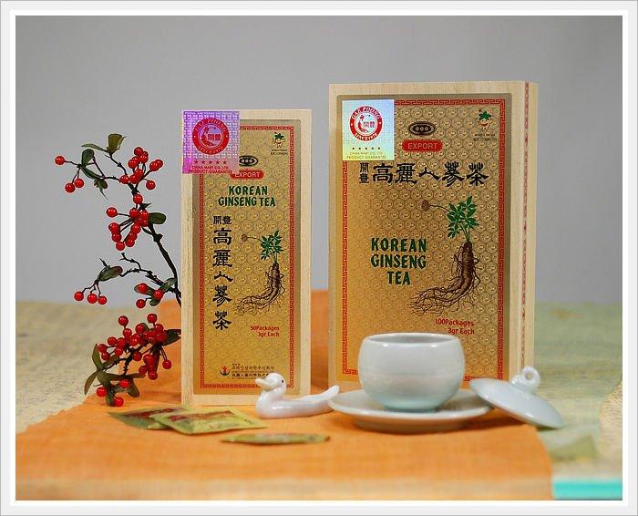 how to drink korean ginseng tea