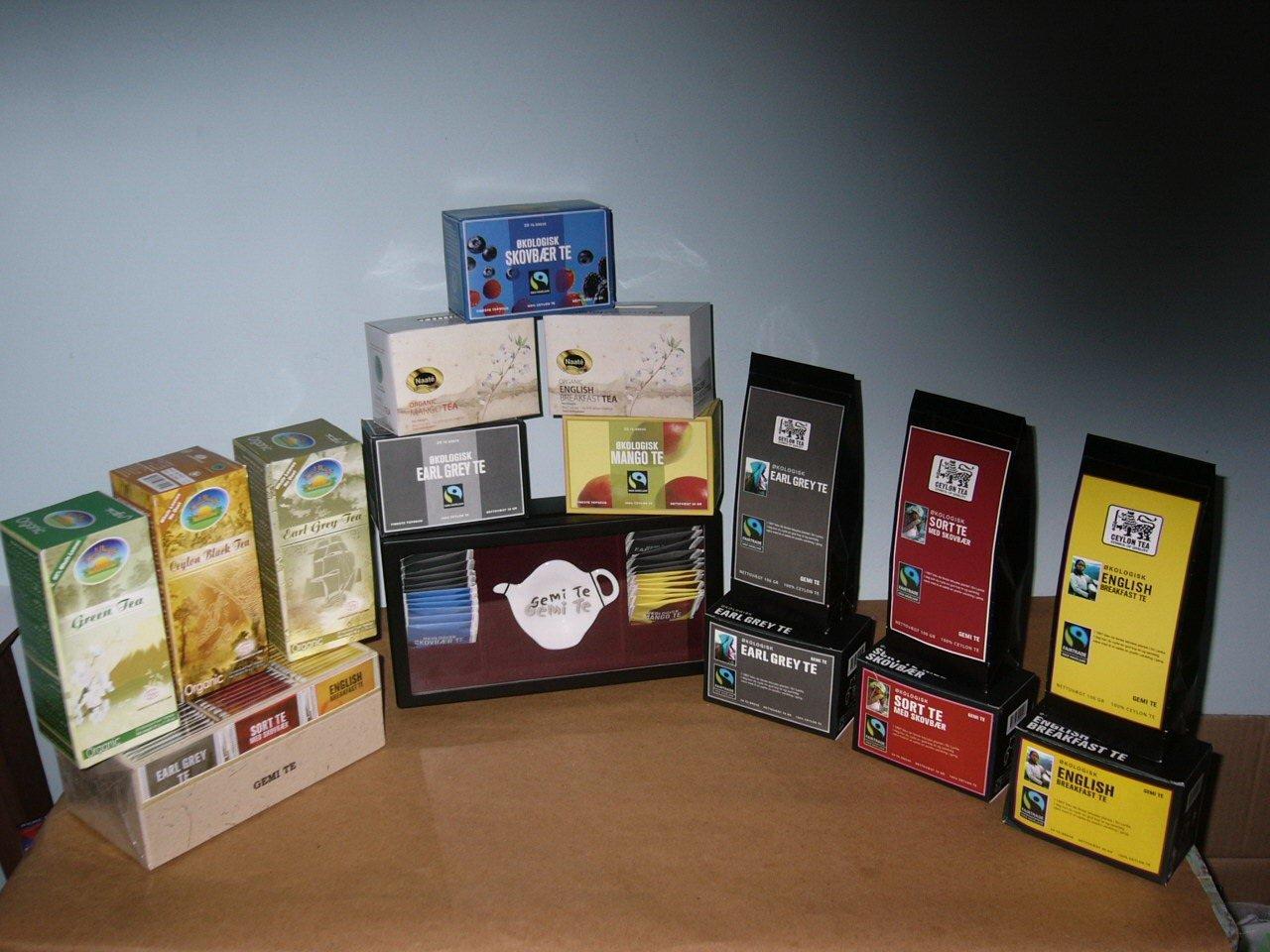 Gemi Brand Organic Tea Products Sri Lanka Gemi Brand