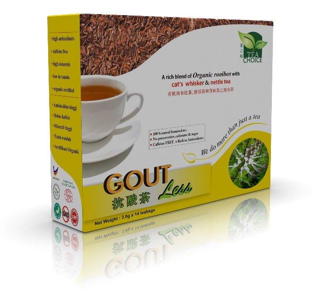 Gout Less Tea