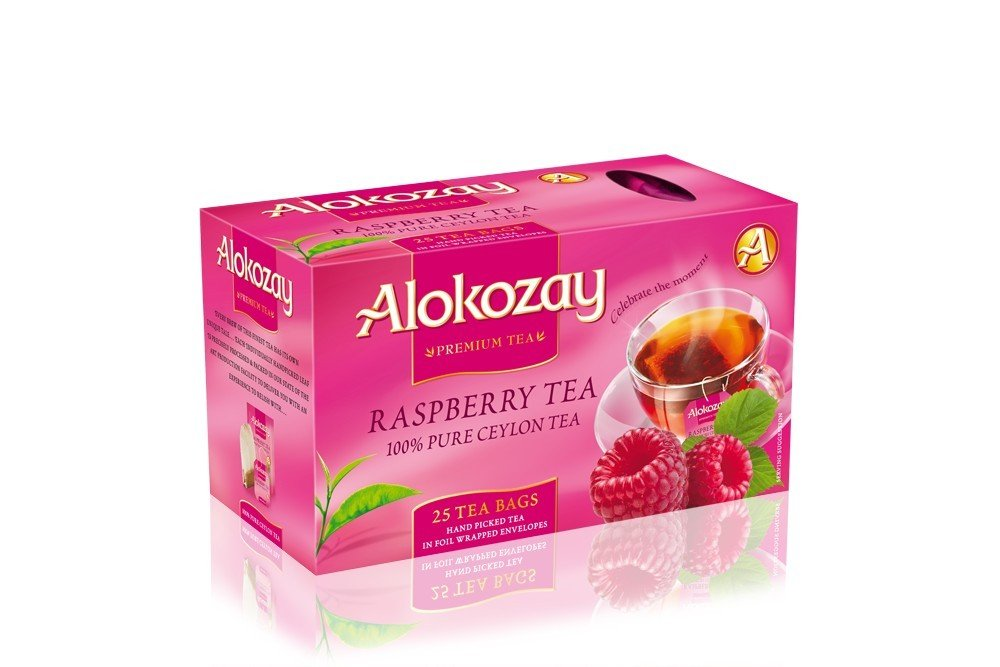 Black Tea with raspberry flavor