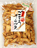 vacuum fried tempura burdock chips