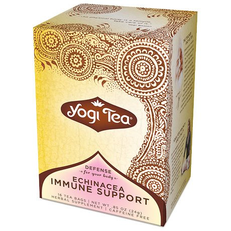 Echinacea Tea Immune Support 16 tea bags from Yogi Tea