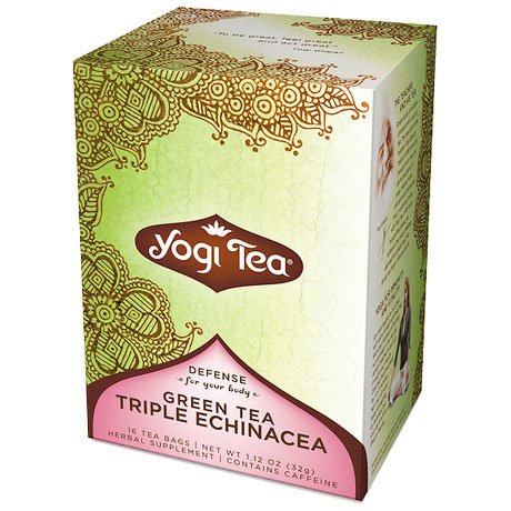 Green Tea Triple Echinacea Tea