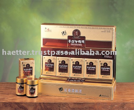 Health  Drink  Tea -  Korea  red  ginseng  tea