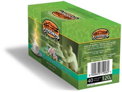 Goudkop Green Rooibostea With Hoodia Gordonii And Buchu Products