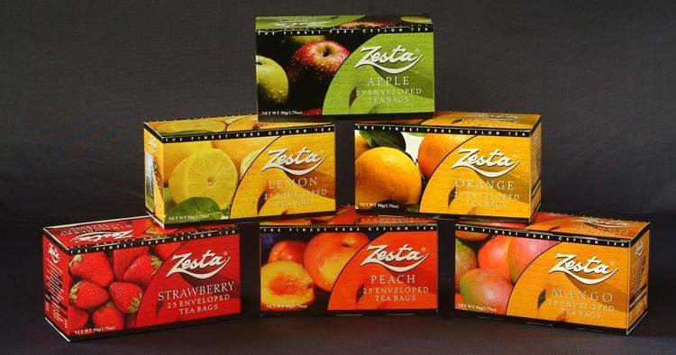 Zesta Fruit Flavoured Tea