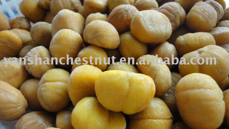 Chinese Frozen chestnuts (IQF)