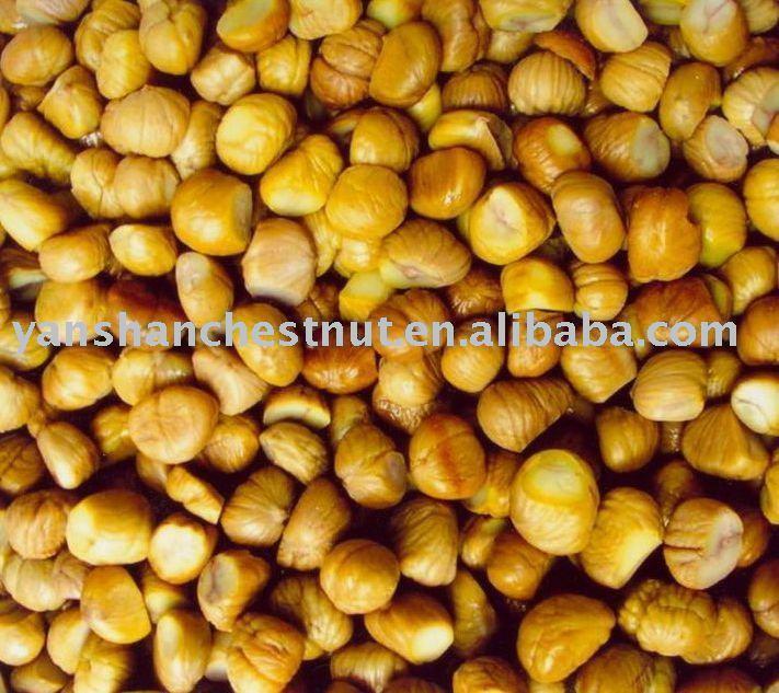 frozen B-Grade chestnut kernel (IQF)