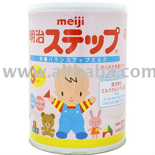 JAPAN MEIJI step milk powder baby