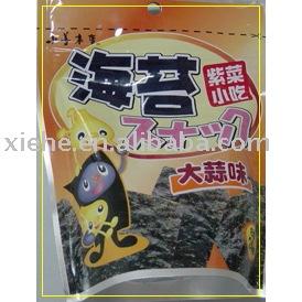 Seaweed(snack,garlic flavor)