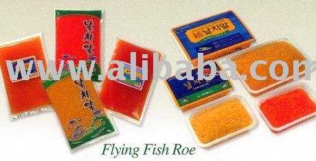 Tobiko-Capelin, Red, Black Orange, Golden, Ginger & Spicy, Sushi ...