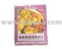 chicken nyonya curry
