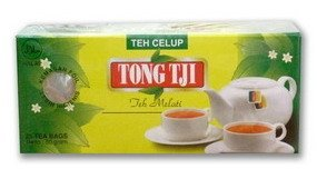 Tong Tji-Black Tea With Jasmine Flavor 25 Bag X 2 Grams