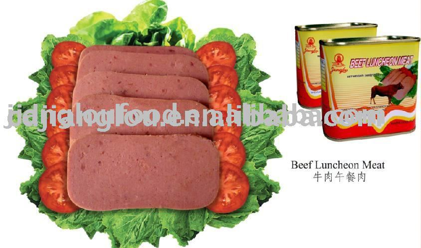 Beef Luncheon Meat