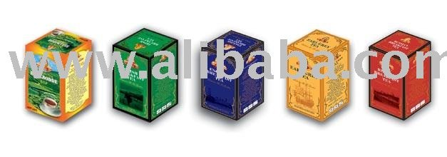 Tea in cartons