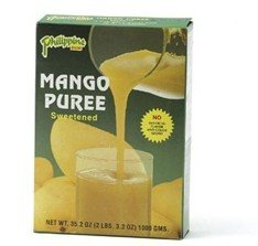 Philippine Brand Sweetened Mango Puree 35.2 oz.