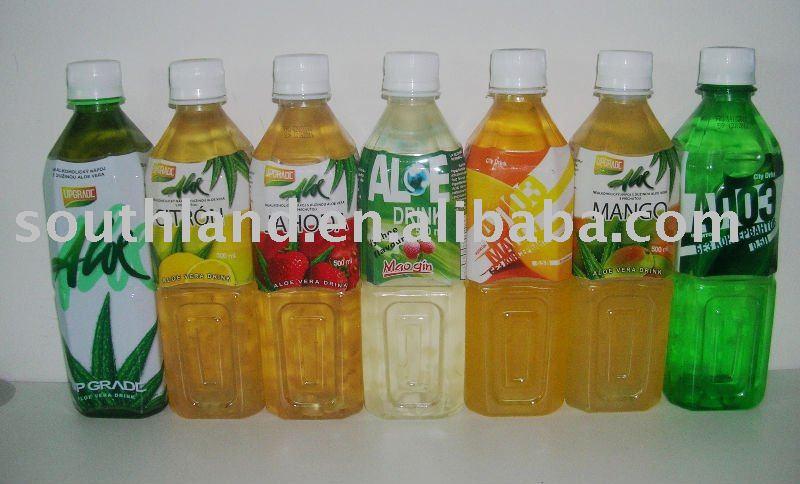fruit flavor aloe vera drink