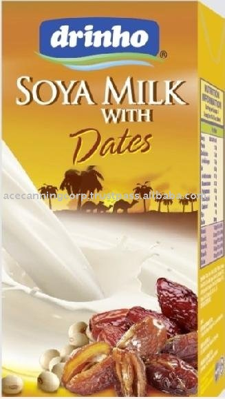 Soya Milk with Dates
