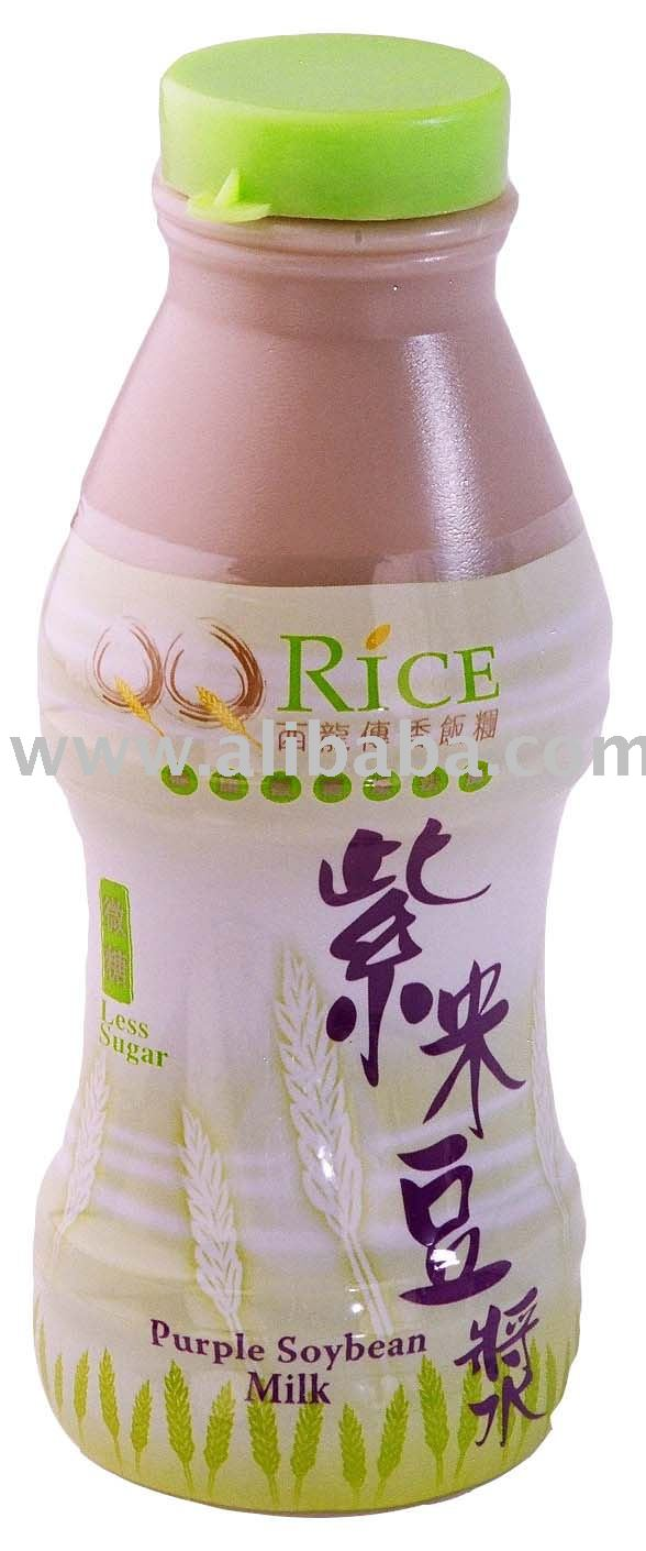 QQ Rice Purple Soybean Milk