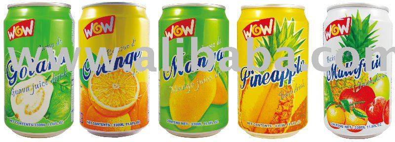 330 ml Canned Juice