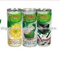 Grass Jelly Drink, 70% Young Coconut Meat, Chrysanthemum Drink