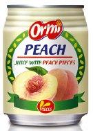 Peach juice with Peach pieces