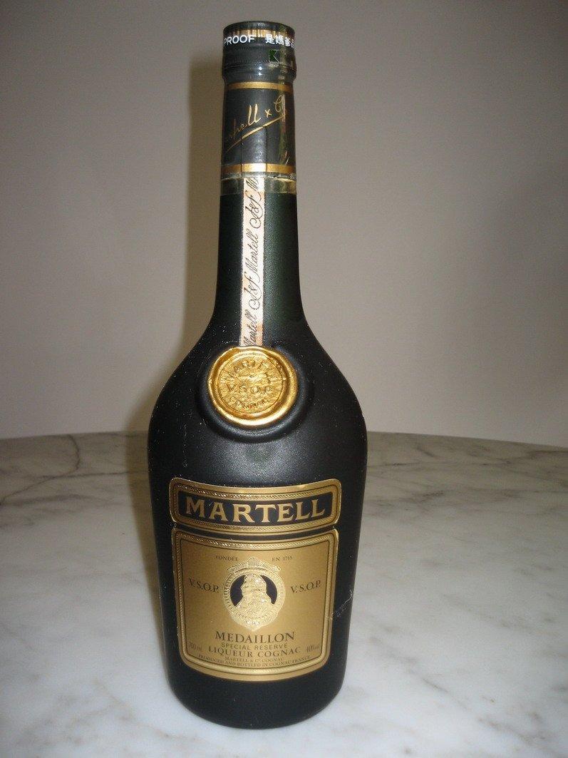 Martell V. S. O. P.  Alcohol