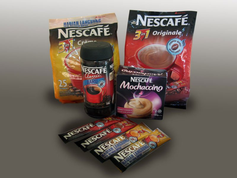 ind of Nescafe