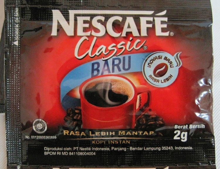 Nescafe Classic 2 grm sachets
