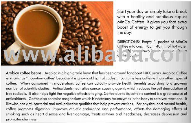 Minca Coffee, the Healthy Coffee Alternative