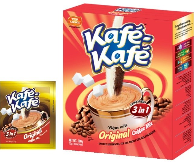 Kafe-Kafe 3in1 Original Instant Coffee