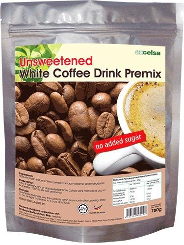Unsweetened White Coffee Drink Premix
