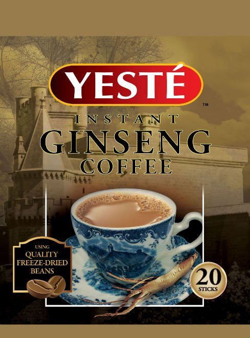 YESTE 3 in 1 Ginseng Coffee