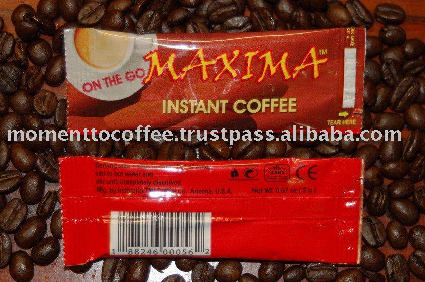 Maxima instant coffee