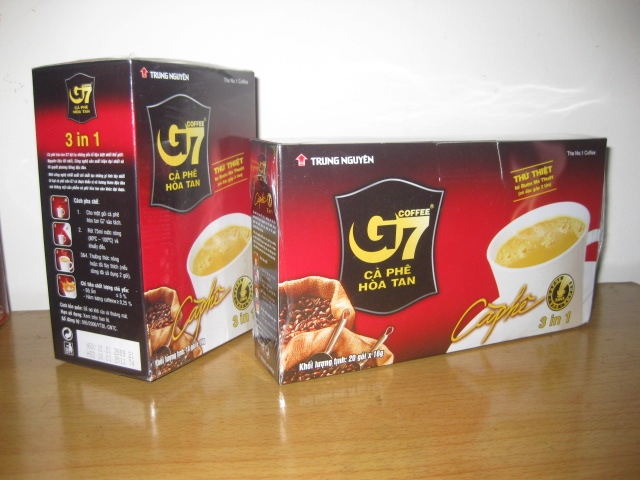 Trung Nguyen - G7 Instant Coffee 3 in 1