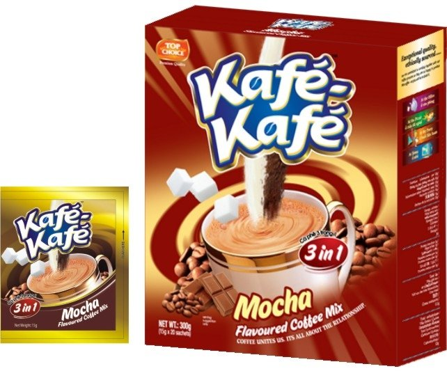 Kafe-Kafe 3in1 Mocha Instant Coffee