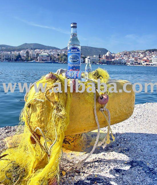 "Greek OUZO ""PSAROPOULA"" 200 Years Old Recipe Products"