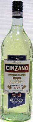 Cinzano Bianco Vermouth 1lt