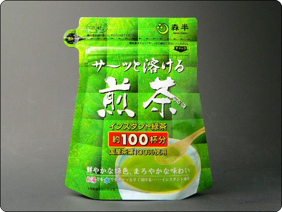 "Instant Green tea  Powder Japanese ""MORIHAN"""