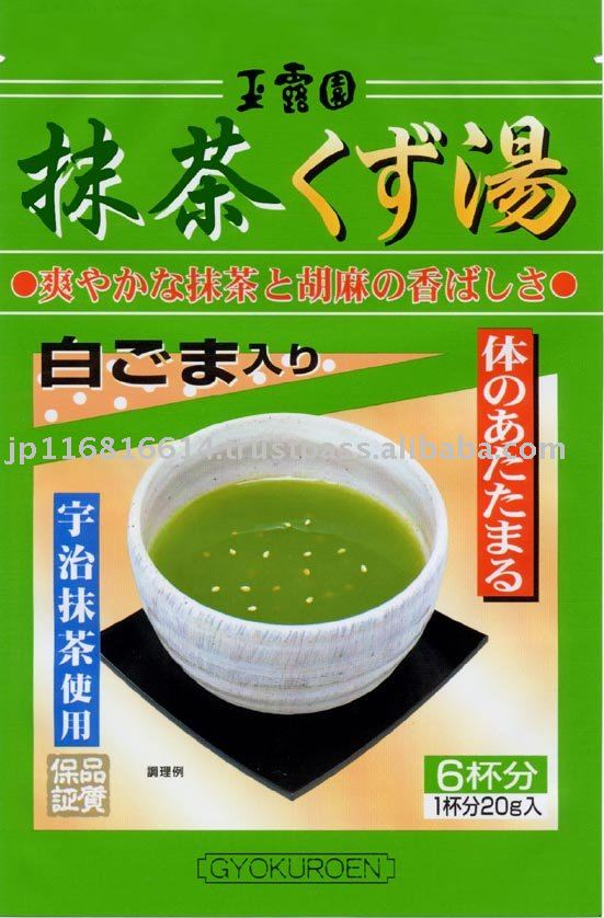 Matcha arrowroot starch tea   (Powder)